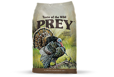 Taste of the Wild Prey Turkey Dog