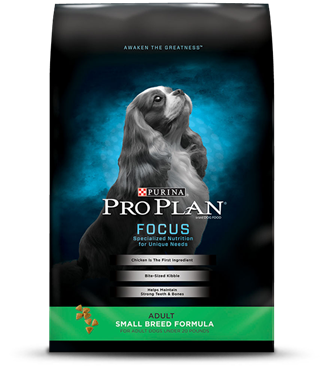 Pro Plan Focus Small Breed Adult Dog