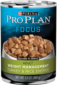 Pro Plan Focus Weight Management Adult Dog Canned