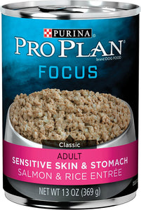 Pro Plan Sensitive Skin and Stomach Salmon and Rice Adult Dog Canned