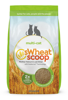 sWheat Scoop Multi Cat Litter
