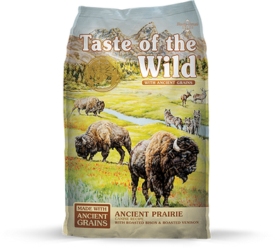Taste of the Wild Ancient Prairie Canine Recipe