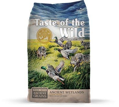 Taste of the Wild Ancient Wetlands Canine Recipe