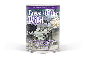 Taste of the Wild Sierra Mountain Dog Canned