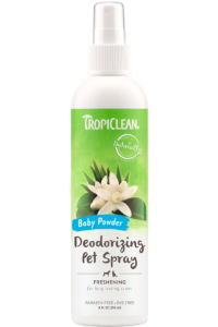 Tropiclean Deodorizing Pet Spray- Baby Powder