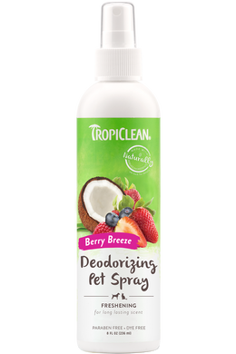Tropiclean Deodorizing Pet Spray- Berry Breeze