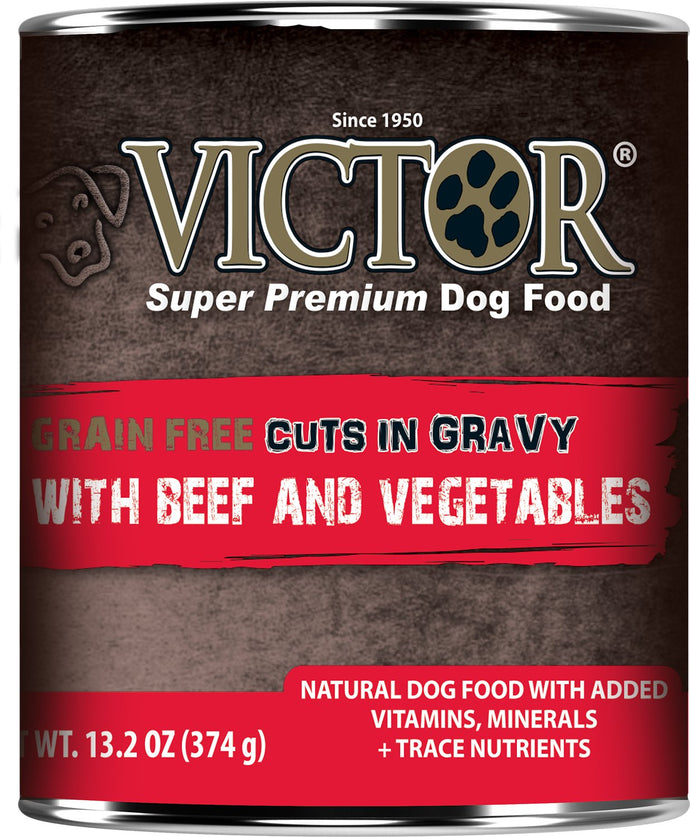 Victor Grain Free Beef and Vegetables Dog Canned