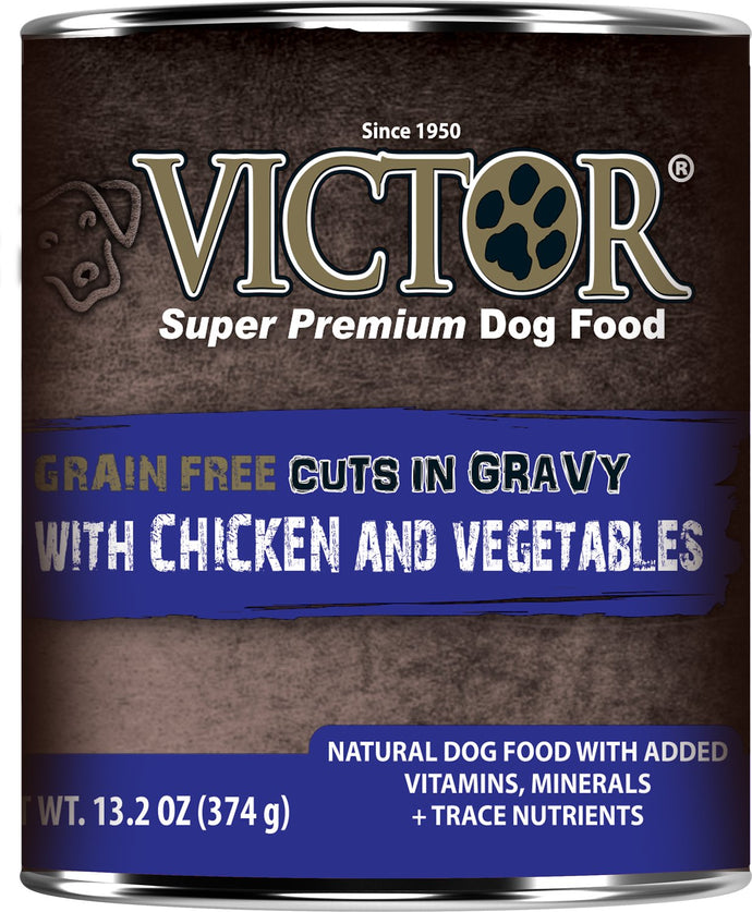 Victor Grain Free Chicken and Vegetables Dog Canned