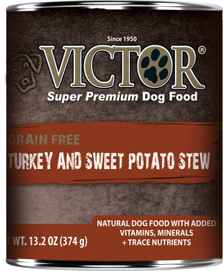 Victor Grain Free Turkey and Sweet Potato Dog Canned
