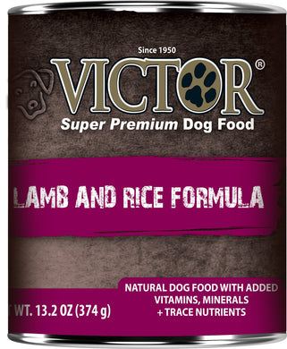 Victor Lamb and Rice Dog Canned