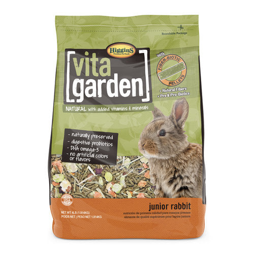 Higgins Vita Garden Junior Rabbit Food