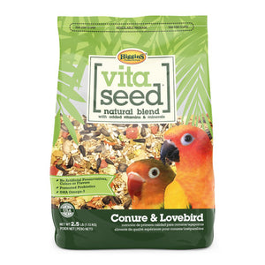 Higgins Vita Seed Natural Blend- Conure & Lovebird