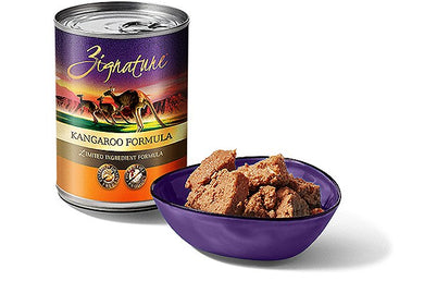 Zignature Kangaroo Dog Canned