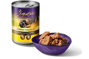 Zignature Turkey Dog Canned