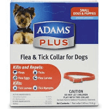 Adam's Flea & Tick Collar for Dogs