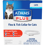 Adam's Flea & Tick Collar for Cats