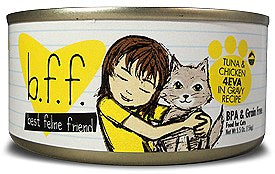 BFF Weruva 4EVA Tuna & Chicken Cat Canned