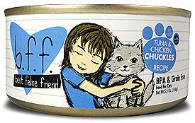 BFF Weruva Chuckles Tuna & Chicken Cat Canned