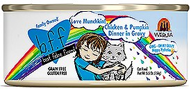 BFF Weruva Love Munchkin Chicken & Pumpkin Cat Canned