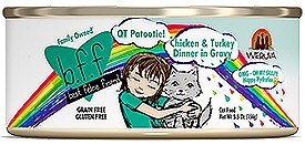 BFF Weruva QT Patootie Chicken & Turkey Cat Canned