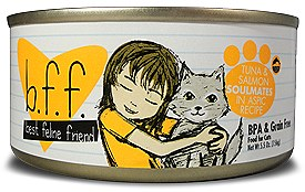 BFF Weruva Soulmates Tuna & Salmon Cat Canned