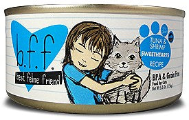 BFF Weruva Sweethearts Tuna & Shrimp Cat Canned