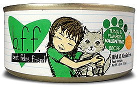BFF Weruva Valentine Tuna & Pumpkin Cat Canned