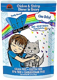 BFF Weruva OMG Ciao Baby Chicken & Shrimp Cat Pouch