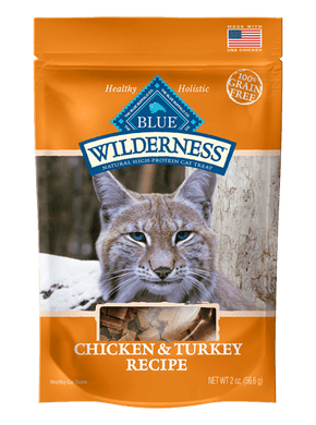 Blue Wilderness Chicken & Turkey Cat Treat