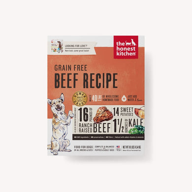 The Honest Kitchen- Grain Free Beef Recipe