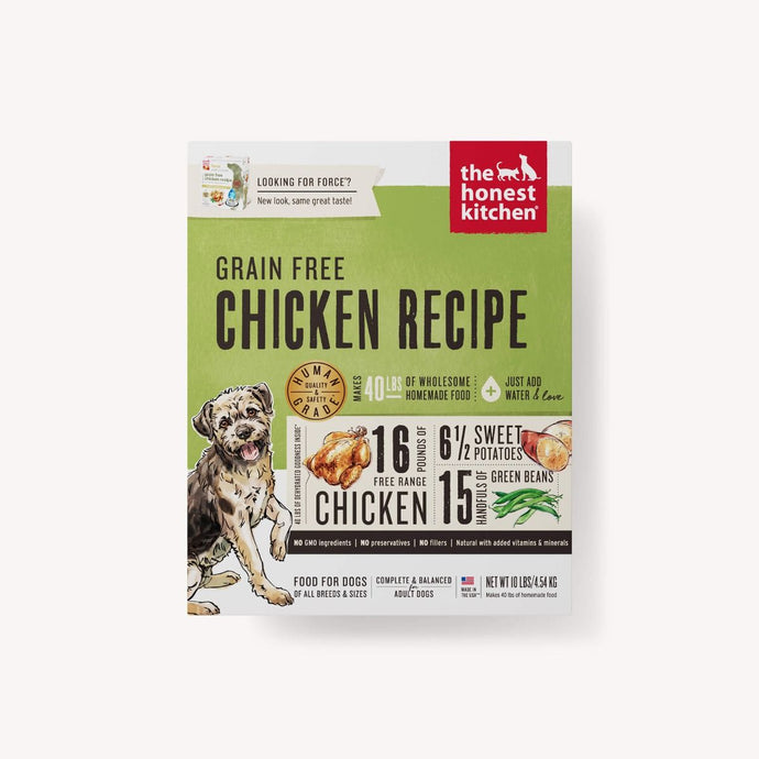 The Honest Kitchen- Grain Free Chicken Recipe