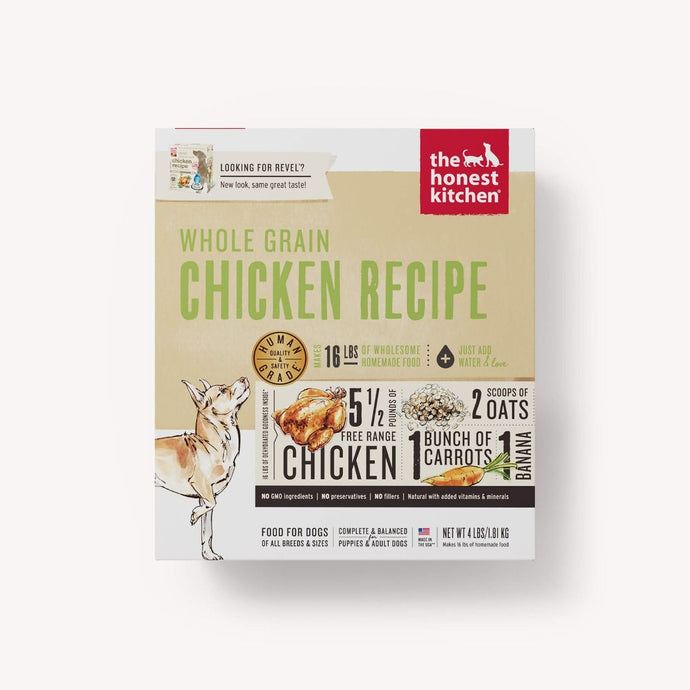 The Honest Kitchen- Whole Grain Chicken Recipe