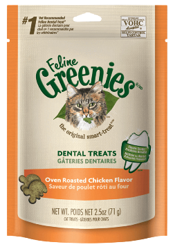 Feline Greenies-Oven Roasted Chicken