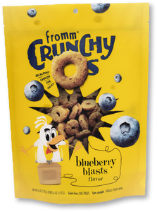 Fromm Crunchy Os- Blueberry Blasts