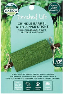 Crinkle Barrel With Apple Sticks