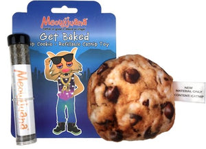 Meowijuana Get Baked Cookie Cat Toy