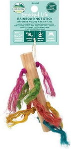 OxBow Rainbow Knot Stick Toy