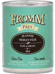 Fromm Seafood Medley Pate Dog Canned