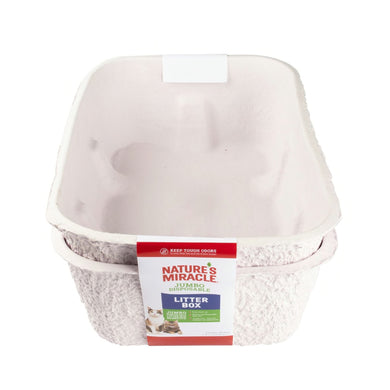 Natures Miracle Jumbo Disposable Litter Box