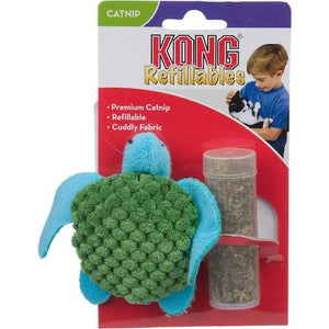 Kong Turtle Catnip Cat Toy