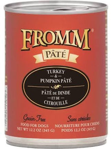Fromm Turkey and Pumpkin Pate Dog Canned