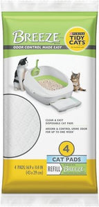 Tidy Cats Breeze Cat Pads (4 pack)