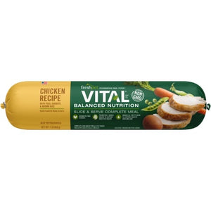 Freshpet Vital Balanced Nutrition Roll Chicken Recipe