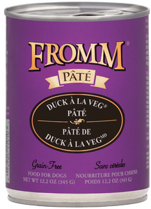 Fromm Duck A La Veg Pate Dog Canned