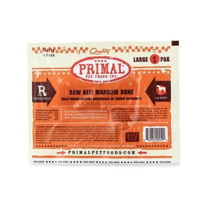 Primal Raw Beef Marrow Frozen Bone Small