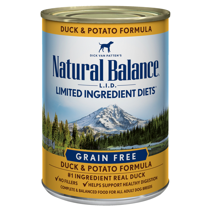 Natural Balance Duck and Potato Dog Canned