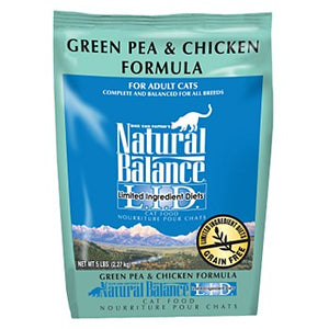 Natural Balance Green Pea & Chicken Cat