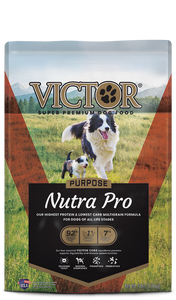 Victor Select Nutra Pro Active and Puppy Dog