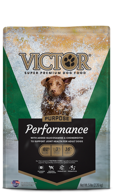 Victor Performance with Glucosamine Dog