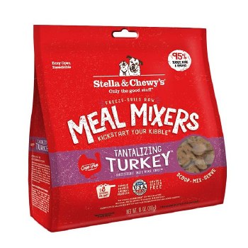 Stella & Chewy's Dog Freeze Dried Turkey Meal Mixers